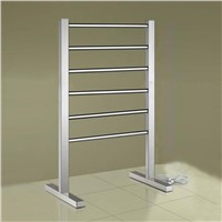 bathroom stainless steel free stand towel rack drier