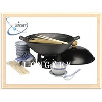 best quality woks with steel cover