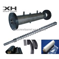 cold feed single screw barrel for rubber extruder machinery