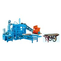 QTY4-20A Colorful Paving Block Making Machine Construction Machine