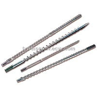 extrusion screw barrel, bimetallic screw barrel, extruder screw barrel