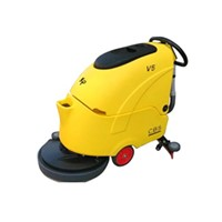 hand floor scrubber machine