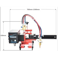 industrial pipe beveling machine