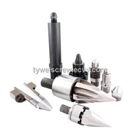 injection screw tips, nozzle tips, screw barrel assembly parts