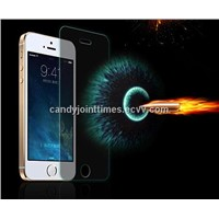 iphone 5S gold tempered glass screen protector