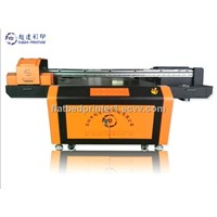 large digital flatbed printer with 2 heads/flatbed uv printer for sale