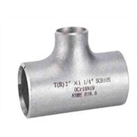 low pressure reducing seamless alloy steel tee pipe fittings traders