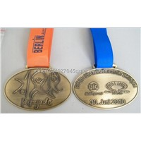 medals with ribbon drape,custom finisher medals with ribbon