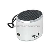 mini portable speaker ,support computer,USB ,TFcard,mobile,up to 16G,with LED screen ,FM