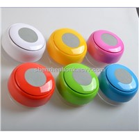 mini wireless speaker with mobile phone hands-free function and suction cup design