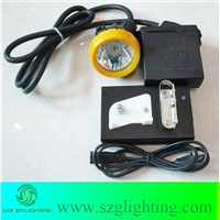 mining safety cap light with 2.2Ah Li-ion battery