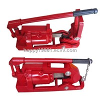 Portable Hydraulic Steel Wire Rope Cutting Machine