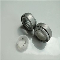 self threading transmission tower lock nut