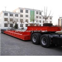 semi low boy truck trailer