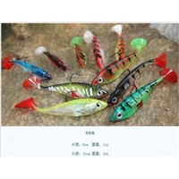 Soft Lure with Lead