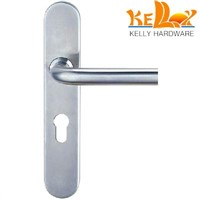 stainles steel 304 lever handle with plate