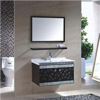 stainless steel bathroom vanity cabinet