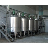 stainless steel tanks for fermenting beer and wine