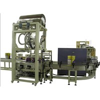 three heads paint filling machine