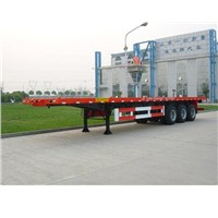 trailer flatbed semi trailer flat bed semitrailer truck trailer