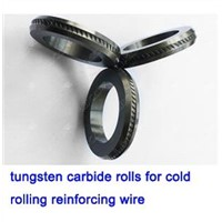 tungsten carbide rolls for processing ribbed wires conform with Israel standard