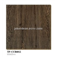 wood grain rustic ceramic floor tile 300x600mm/600x600mm