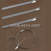 metal cable tie 304 stainless steel width size from 4.6mm~12mm