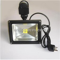 30w LED PIR sensor LED flood light for outdoor