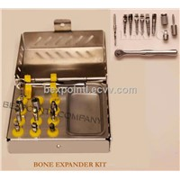 Bone expander kit Bone spreader kit alternative for sinus lift Osteotomes
