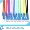 Flashing LED Smile Face USB Data Cable Sync Charging Flat Noodle Cable for iPhone/Samsung/HTC etc