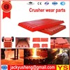 Jaw Crusher Jaw Plate, Jaw Crusher Fixed Plate, Jaw Crusher Movable Plates