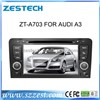 ZESTECH car dvd player with GPS Navigation for AUDI A3 stereo audio radio