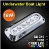 ip68 marine led underwater light for boat