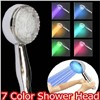 made in china LED light rain shower head