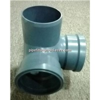 110mm PVC big diameter drainage & sewage pipe fitting mould