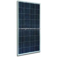 125W - 150W Poly-crystalline Solar Panel made of 6 inch cell
