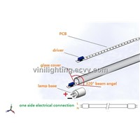 320 Degree Beam Angle 18W T8 LED Tube Light