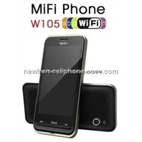 3G Video Calling Phone, 2 Sim 2 Standby, Quad Band, Support WiFi (E105N)