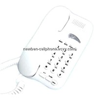 Basic Analog landline telephone, pulse / tone corded phone, flash, hands-free, memory keys .