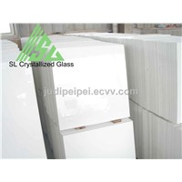 glassos crystal white stone tile 24x24
