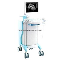 "15.1"" Full Digital Ultrasound Scanner with Trolley WHYF40/Mobile ultrsound scanner"