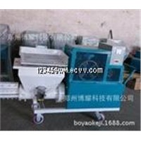 Good quality screw mortar pump plastering machine