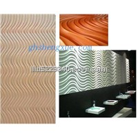 MDF wave panels mdf wall panels