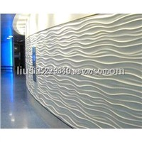 Mdf wave panel decorative wall panel