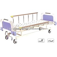 Movable Full-Fowler Bed with ABS Head/Foot Board(Central Locking) PB-7-1