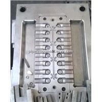 PPR injection molding Tee pipe fitting mould