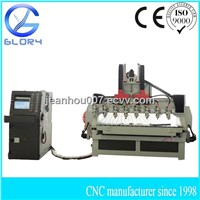 World Top 8 Head CNC Millling/Carving/Engraving/Cutting Machine