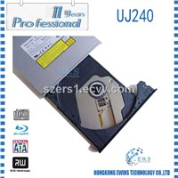 100% Original Blu-ray burner Panasonic UJ240 with Sata interface 12.7mm for Pavilion dv6 Notebook