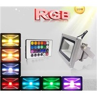 10W LED Floodlight | 10W RGB LED Floodlight | Foco reflector LED de 10W | Foco LED de RGB