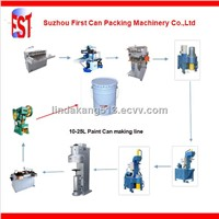 10-25L Conical pail can making production machine line